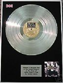 SIMPLE MINDS - LP  Platinum Disc - ONCE UPON A TIME